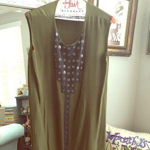 Geren Ford Silk Dress